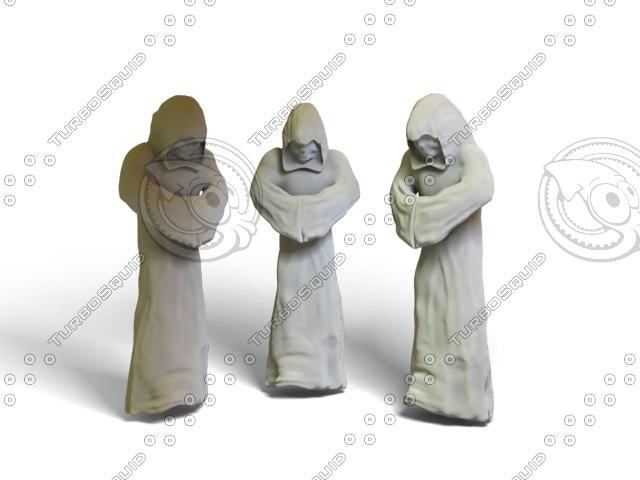 3d 3ds cape robe