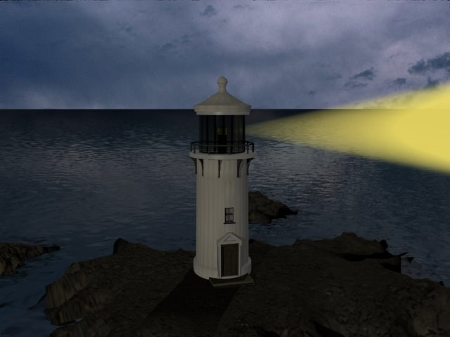 3ds max lighthouse