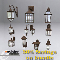 Exterior Coach Light Bundle