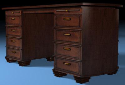 3d table desk