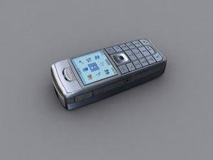 nokia 6230i cellphone 3d 3ds