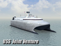 3d model navy uss-hsv2 joint venture