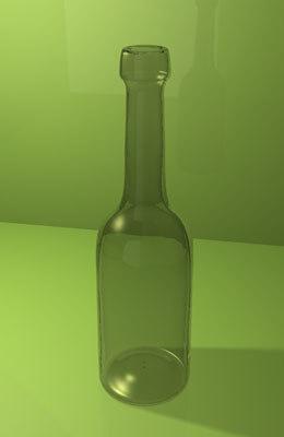 3ds max bottle
