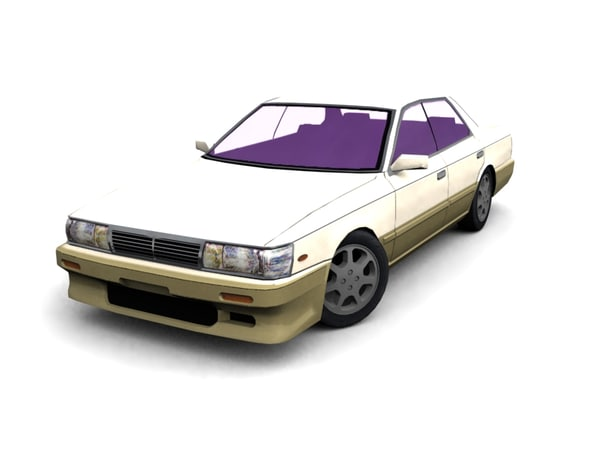 c33 laurel nissan 3d model
