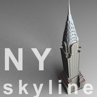 NY skyline - chrysler building.zip