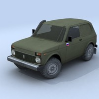 vehicle military 3d model