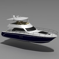 Sea Ray 585 Sedan Bridge yacht.max.zip