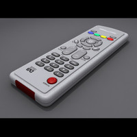 free remote controller 3d model