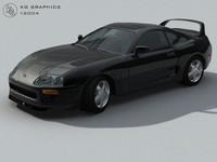 Toyota Supra 1999 3DS