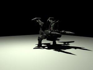 3d worker robot robotica