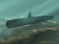 3d model submarine subs