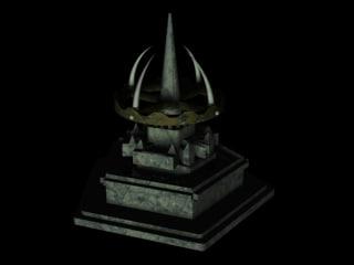 3d model ancients building