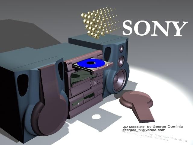 music 3d model