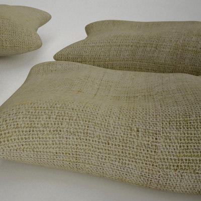 sand bags 3d model