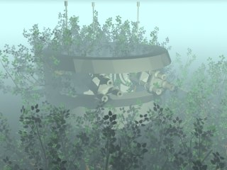 bunker building 3d max