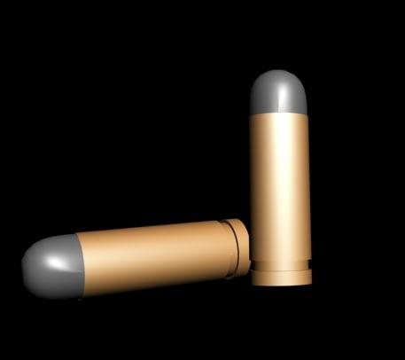 3d bullet model