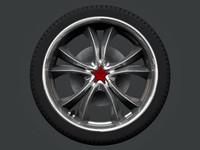 3d model wheels