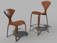 dwr cherner chair 3d model