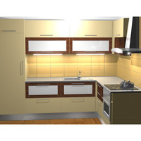 3d kitchen furniture