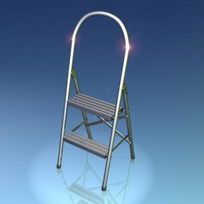 3ds max metal step ladder