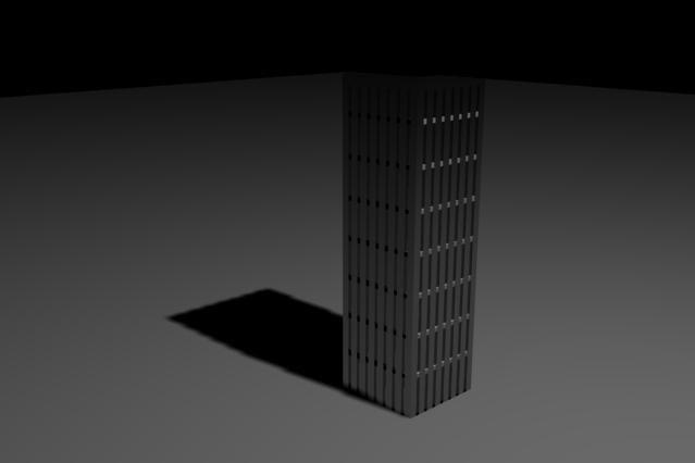 3d model of rise building