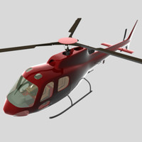 3dsmax helicopter civil
