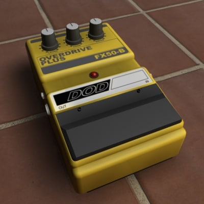3ds guitar overdrive pedal