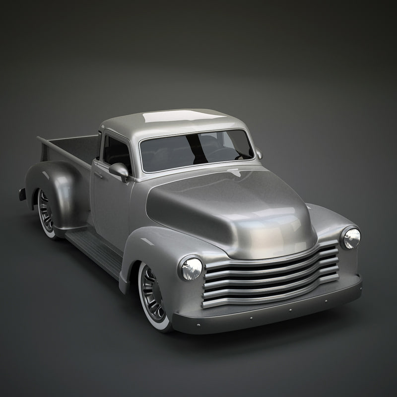 old chevy 3d max