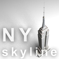 NY skyline - empire state building.zip