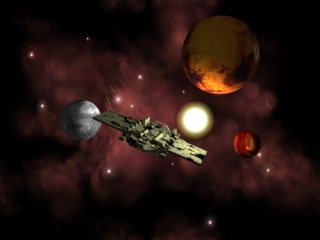 3dsmax spaceship-caldro spaceship