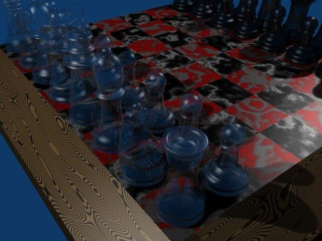 free blend mode chess set