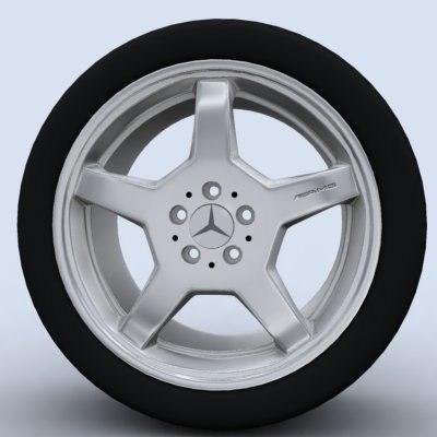 amg wheel rim 3d max