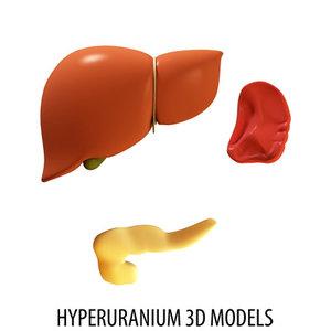 max liver pancreas spleen