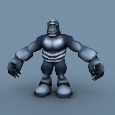 monster games 3d model
