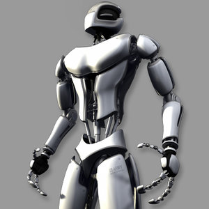 3d model advanced robot character basic