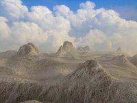 3dsmax desert canyon