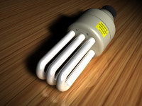 energy light bulb 3d model