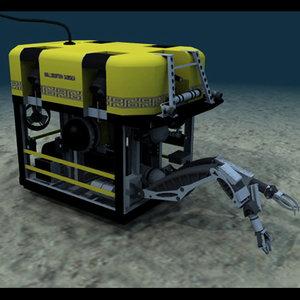 3d model rov oil