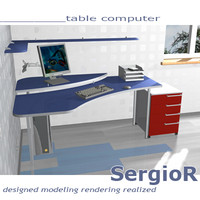 3d model table project