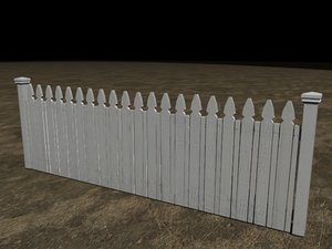 3d max picket fence