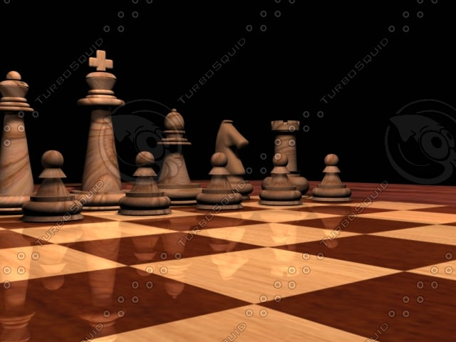 chess board 3d 3ds