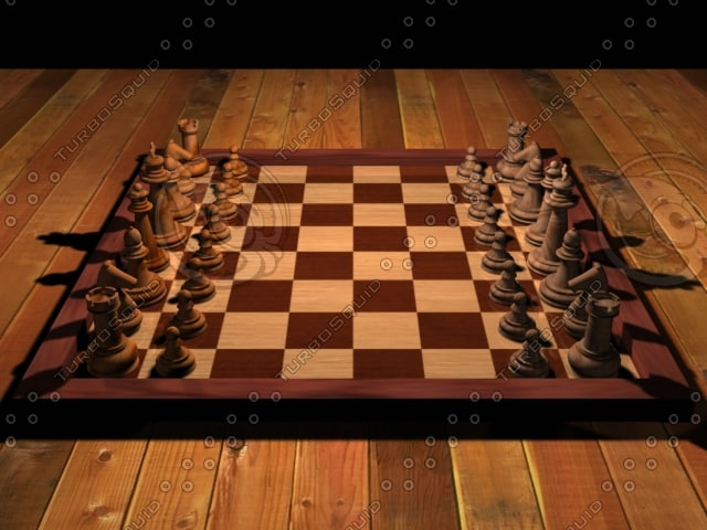 3ds max chess