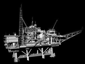 oil derek 3d model