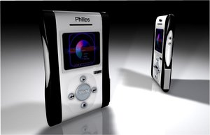 philips jukebox 3d c4d