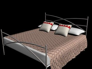 3d bed king
