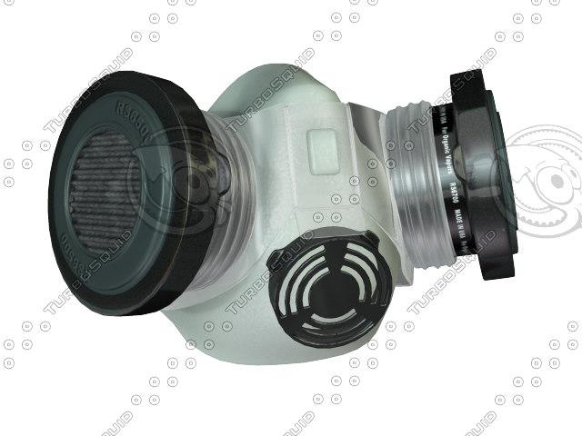 3d air respirator model
