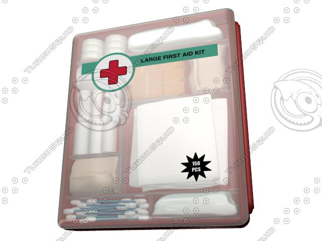 maya aid kit bandages