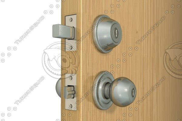 doorknob hardware 3d model