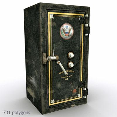 antique safe max