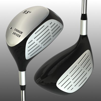 3ds max golf club